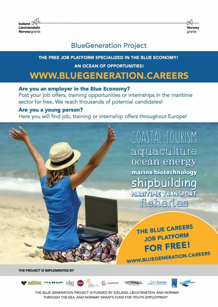 Flyer_BlueGeneration plakat